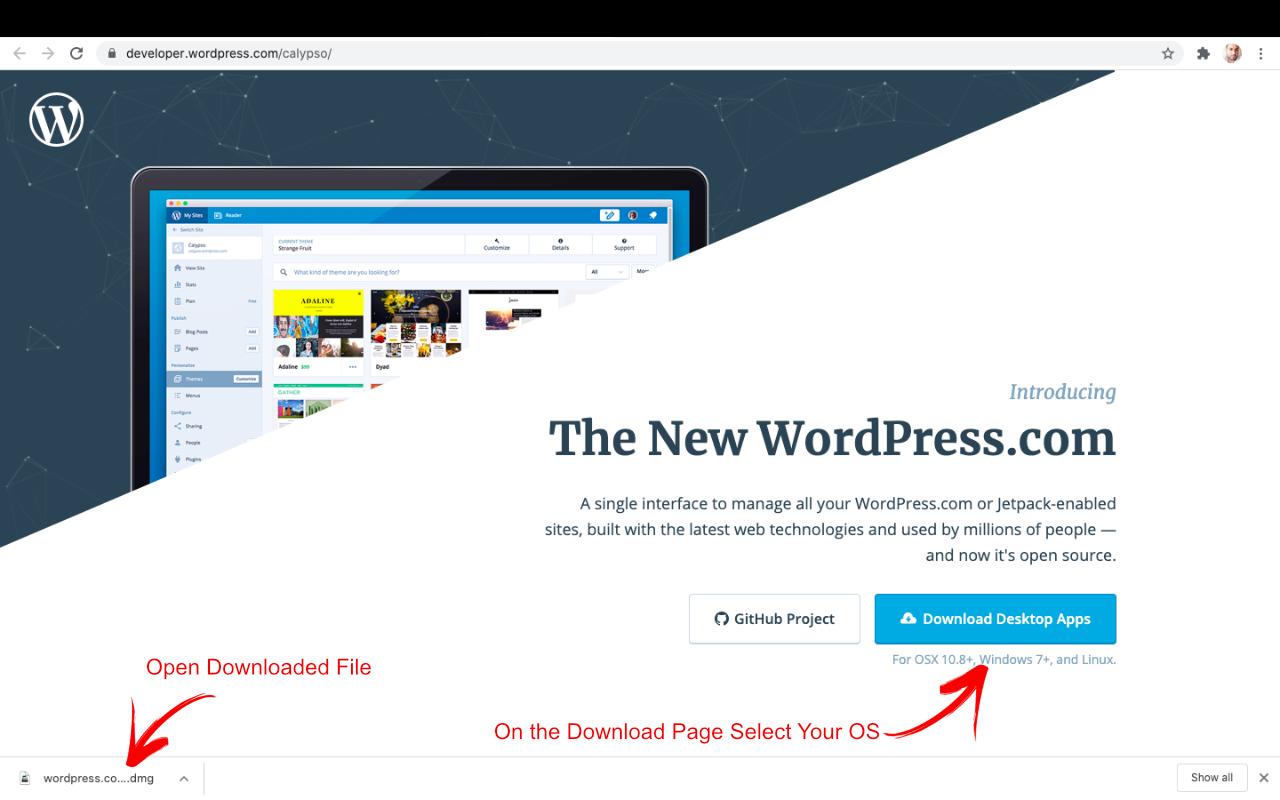 WordPress Locally