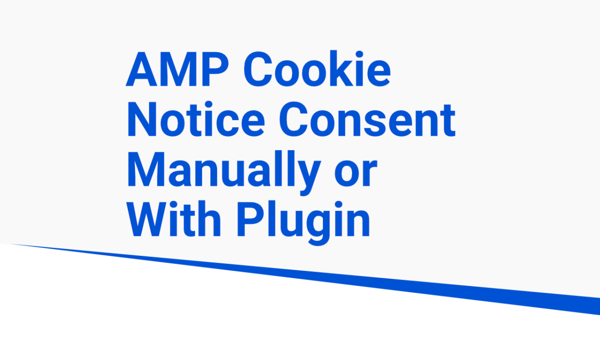 amp cookie consent