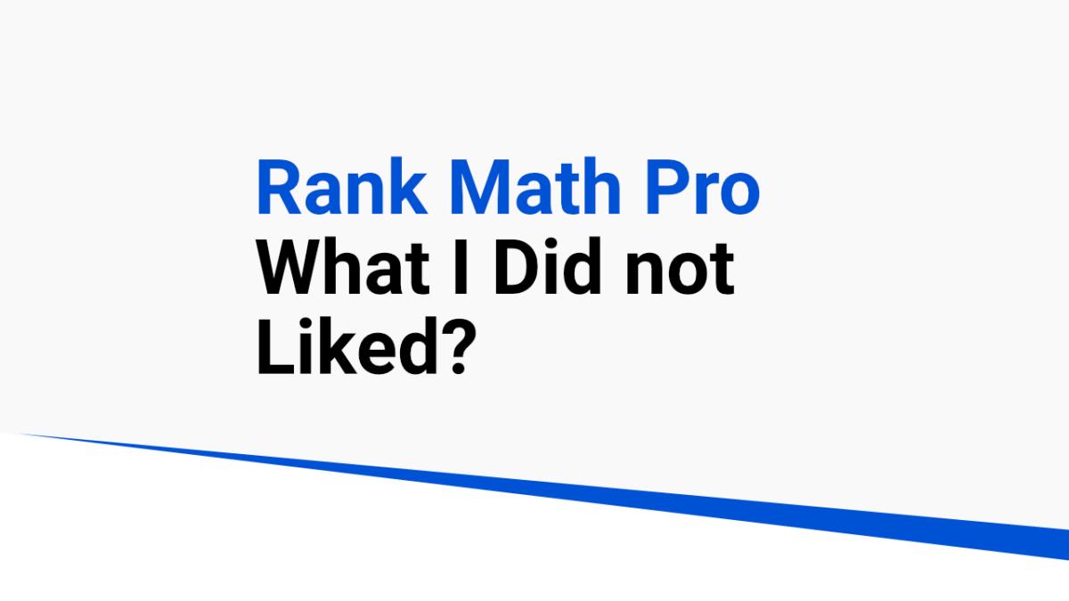 rank math pro